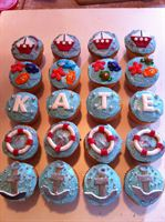 Kate's Wedding Shower cupcakes